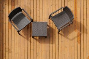 Gartenstühle aus Polyrattan